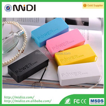 2017 new design portable powerbank Safe and Fashion high capacity 5200mah power bank