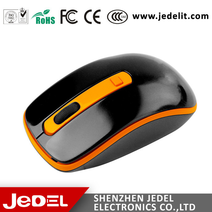 2015 Hot Sale Custom Promotion Factory Direct high dpi wireless mouse laptop/maus for pc