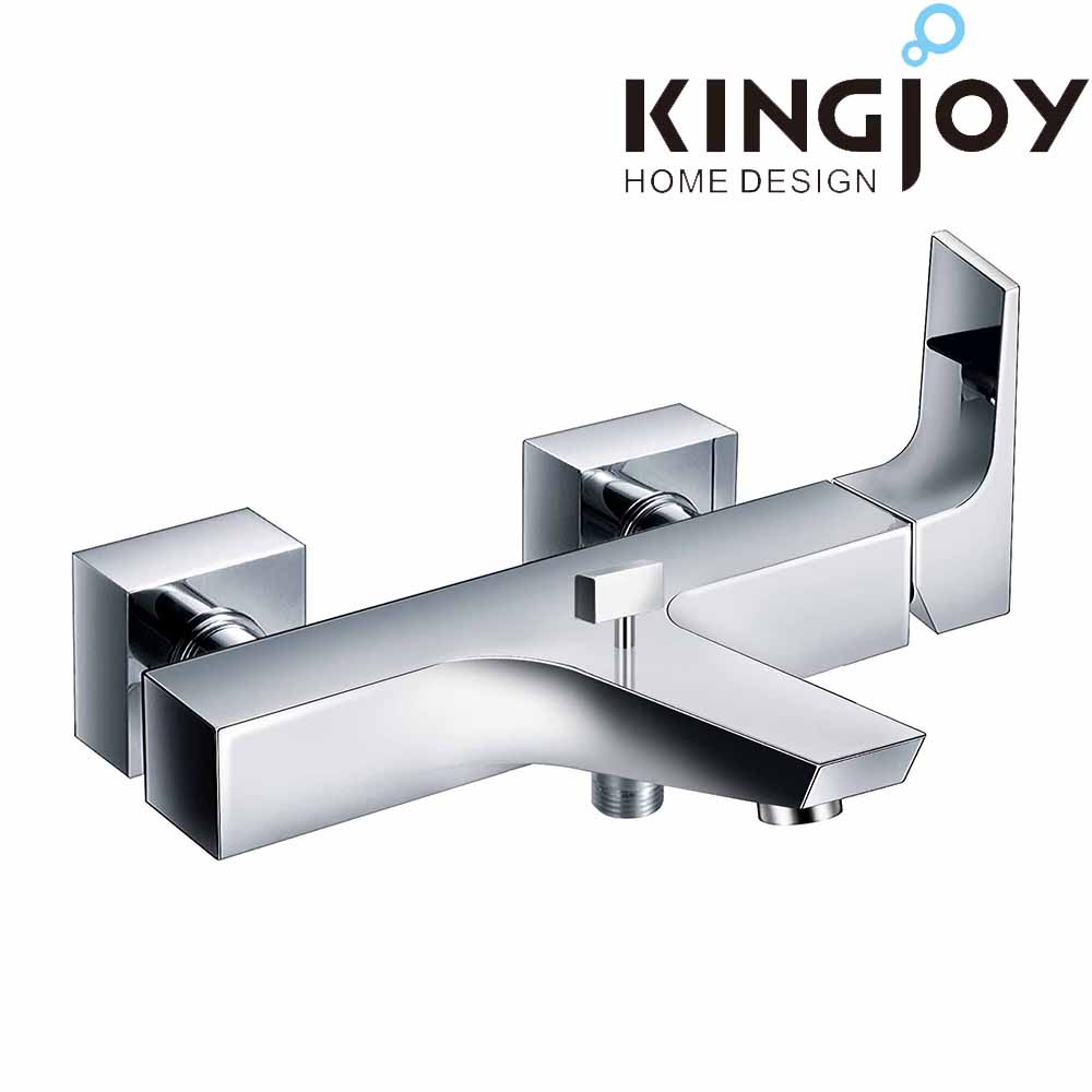 modern design thermostatic wall mounted single lever bath/shower faucet