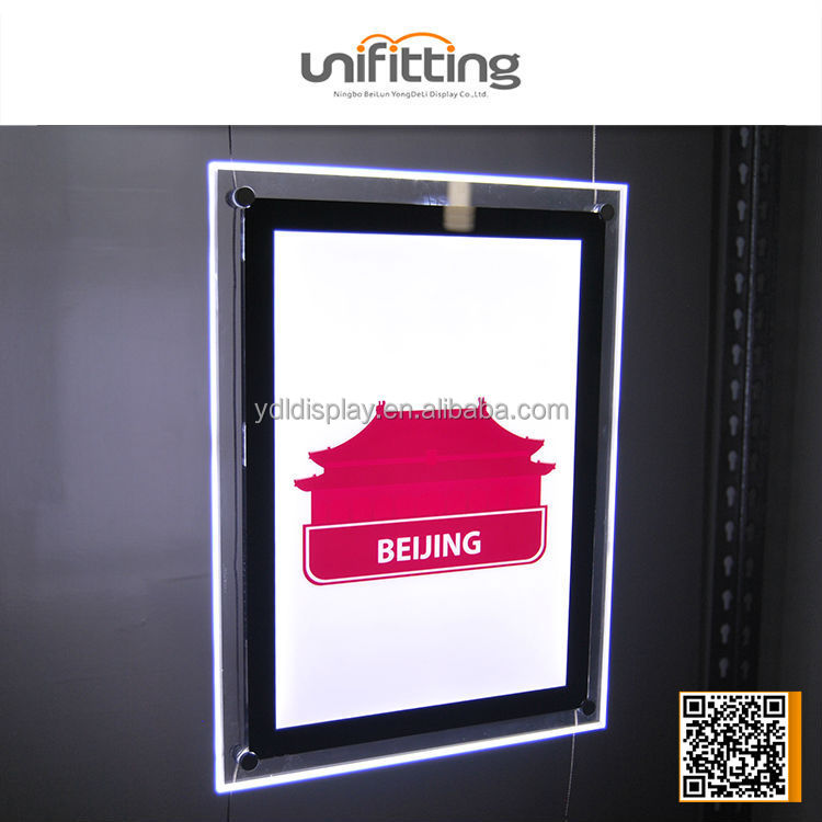 Clear Acrylic A4 Size led slim light box