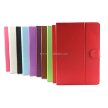 Universal Pu leather wallet tablet stand case for 13 13.3 inch tablet pc