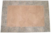 Leather Patch Rug