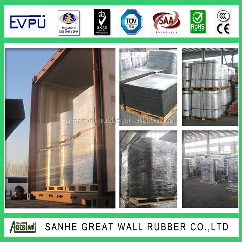 3mm-6mm great wall high quality diamond rubber sheet