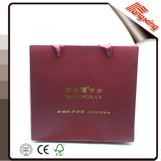Made In China Wedding Red Packaging Gift Bags
