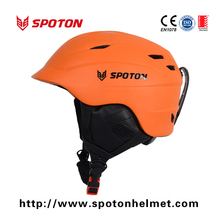 MTB material shell comfortable ear and chin pad ski helmet