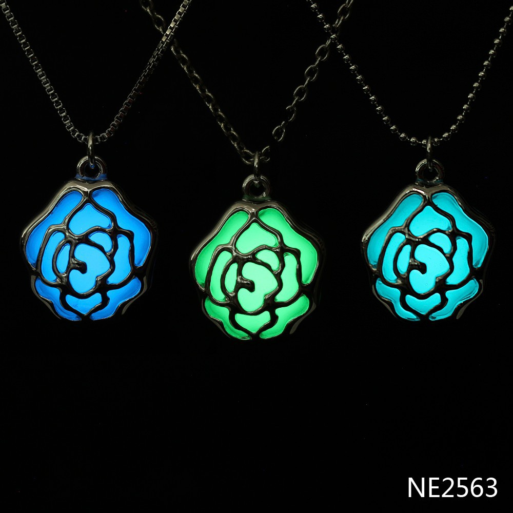 2016 statement necklace, luminous in the dark glow necklace, fashion necklace