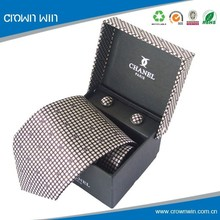Texture Custom Fashion Mens Tie Gift Boxes