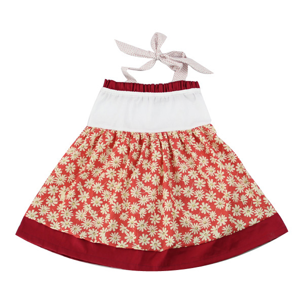 Latest kids frock designs pictures mixed color backless outlook girl dresses baby summer flower dresses