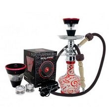 Sell Arabic custom glass narguile shisha hookah royal with silicone pipes