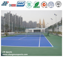 Liquid Self-leveling Silcion PU Paint for Tennis Court Ground Covering
