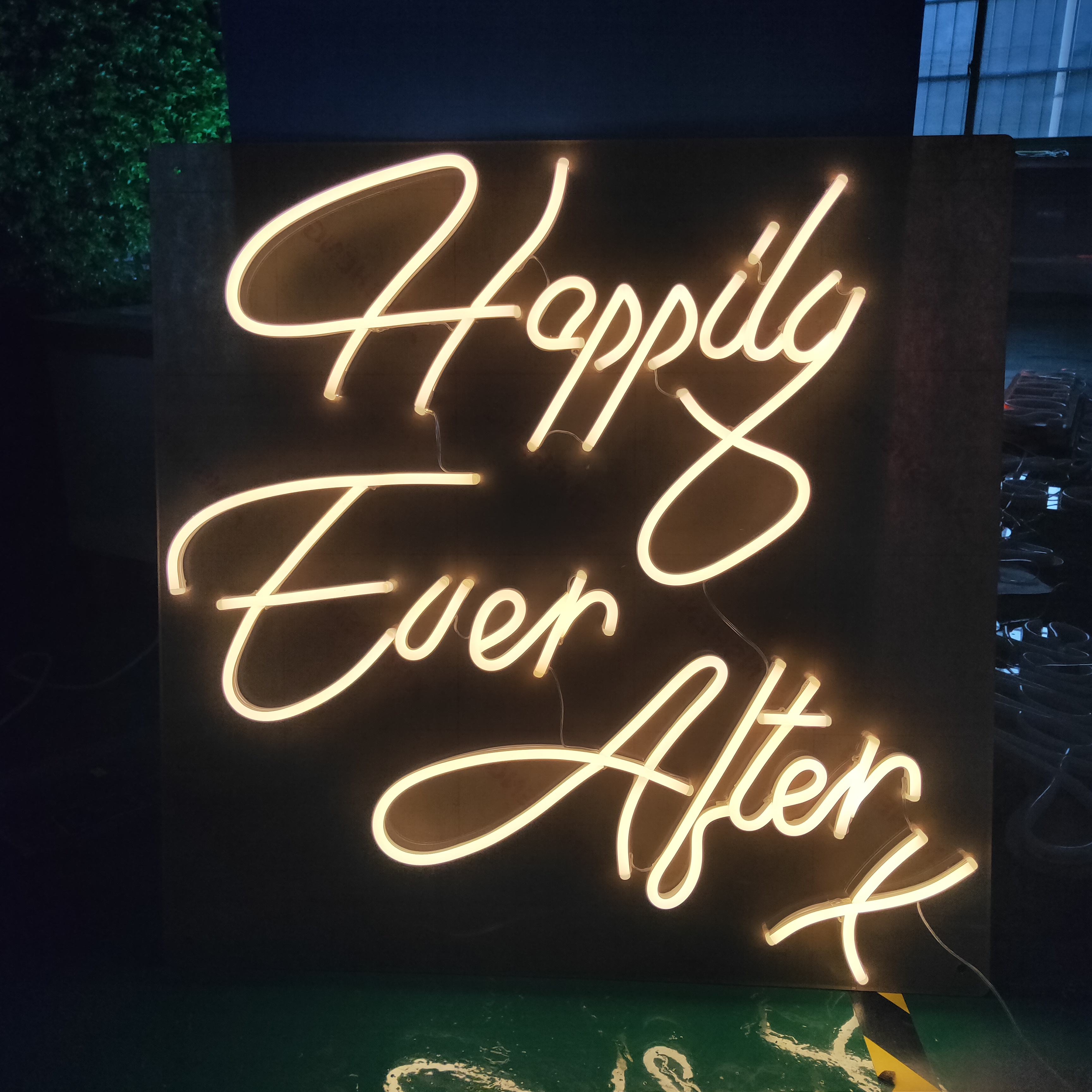 Happily ever alter Custom neon acrylic <strong>sign</strong> LED custom flex neon light <strong>sign</strong>