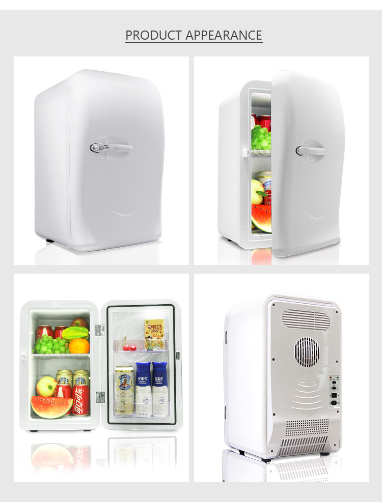LVNI well-popupar 12v 220v 110v 17L hot cold car home mini bar refrigerator fridge