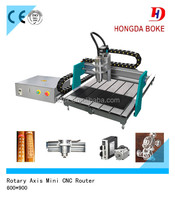 Desktop Mini CNC Router/Advertising machine for wood,metal,acrylic,pvc,mdf,organic glass,stone,etc.HD-6090