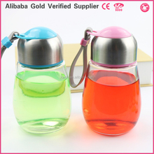 Plain Glass Bottle Egg Shaped Transparent Cute Water Bottles