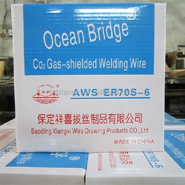 Co2 Gas Shield Welding Wire Er70s-6/solder Wire Er 70s-6 Din 8559 ...