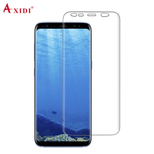Wet Applied Screen Film For Samsung Galaxy S9 S9 Plus TPU Full Size Cover Screen Protector Guard