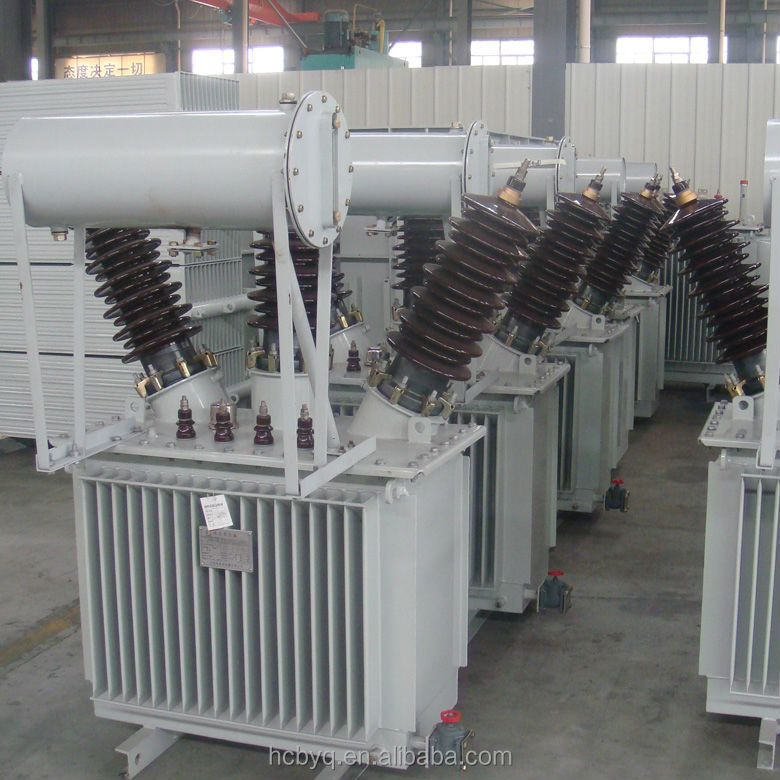 3 phase 33kv 200kva high voltage oil immersed power distribution transformers price