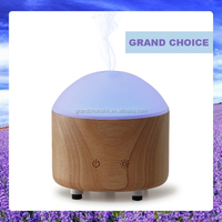 Wood Air Aromatherapy Diffuser Ultrasonic Ion Humidifier Light