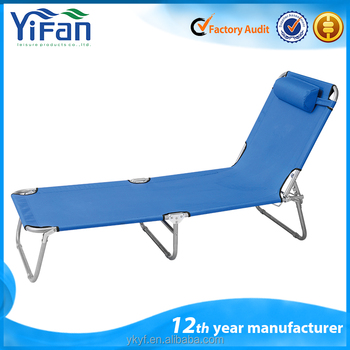 Comfortable folding cot camping Folding bed
