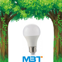 Plastic + Al+PC cover edison led bulb with pir sensor led lamp residence mbt