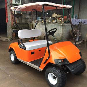 used rear seat single seat electric golf cart