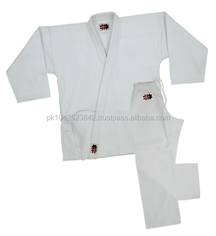White Karate Uniforms for Sale