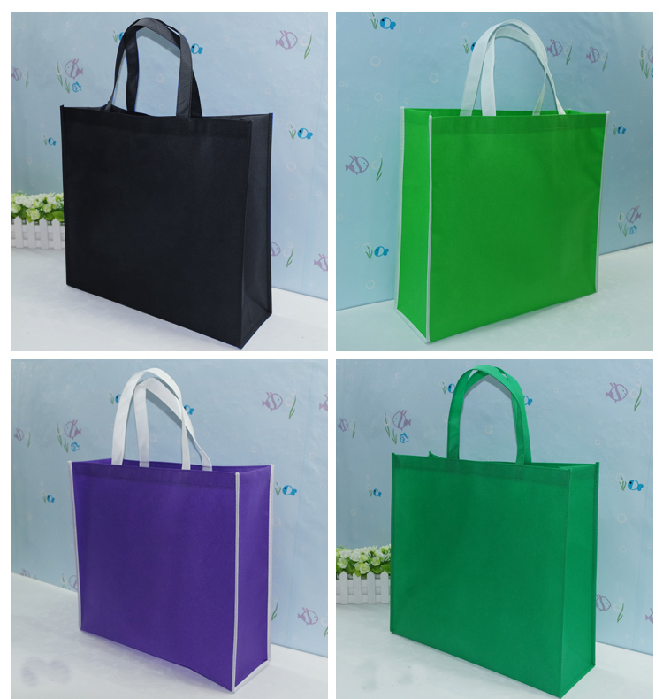 Reusable promotional cheap logo shopping bags