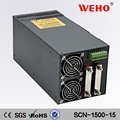 China Market of 1500w single 220v ac dc output 12v mode 125a switching power supply