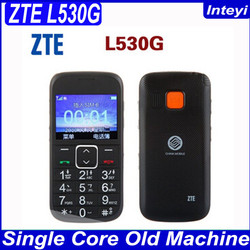 Free Shipping In Stock 3.0 inch ZTE L530 Old Men Moible Phone Cellphone With Big Buttons for Old Man