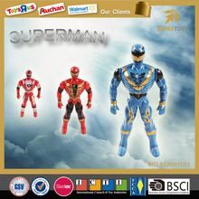 Hot item cartoon kid toys superman Action figure