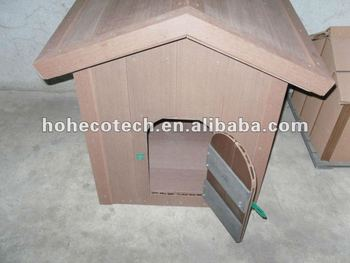 Wooden soft wpc dog house