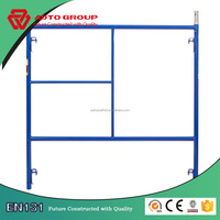 Building material V lock scaffolding frame made in China
