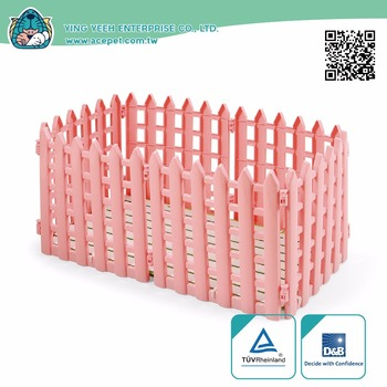 new premium high qual Pet Plastic Fence for Small Animals