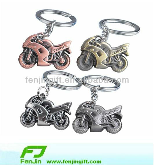 custom promotional metal souvenirs motorcycle