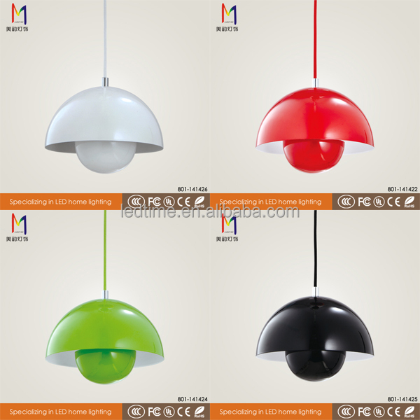 Zhongshan modern replica ph snowball pendant lamp industrial design lamp with ce rohs