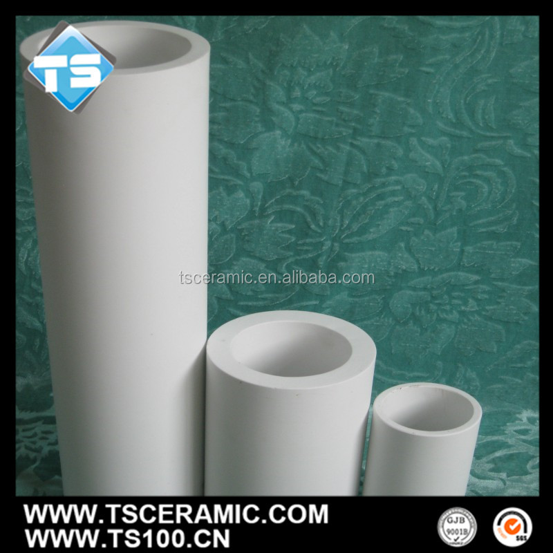 abrasion resistant ceramic lined pipe for Pulverized coal transport