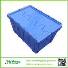 Low Price Stackable Plastic Moving Crate