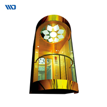 Wholesale China Trade Panoramic Decoration Glass Commercial Elevator