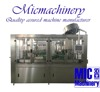 MIC 18 18 6 top quality twist off cap glass bottle mineral water making machine 6000bph with CE
