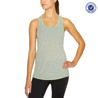 Tank top gym polyester workout tank tops women 100 polyester work vest