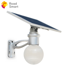 Solar Moon LED Security Yard Light solar street light all in one 160 lm/w, 12w lamp power Remote Controls & Motion Sensor