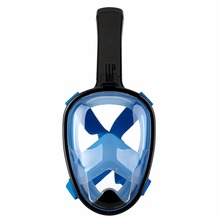 2017 Hot Sale Dive Swimming Silicone Full Face Diving Mask Nose Breath Snorkel Mask with GoPro mount