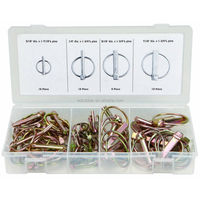 WD-095 Hot selling 50Pcs safety lynch pin assortment