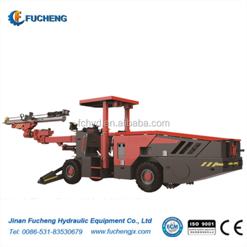 Small Single-arm Hydraulic Face Drilling Jumbo FC10-1BCDL with double power