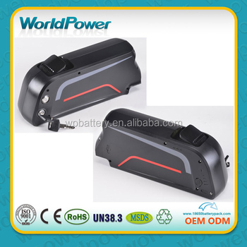 48V 11.6Ah Battery New for 8FUN/Bafang BBS-02 48V 750W, New Downtube battery, electric bike lithium battery,