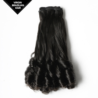 VV Natural Black Top Quality Remy Extension Human Funmi Virgin Brazilian Hair China Suppliers