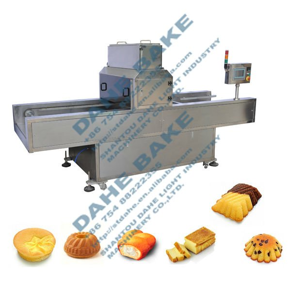 stainless steel automatic cake production oil greaser