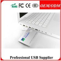 Free sample Create Icon Name Card Usb Pen Drive 16Gb