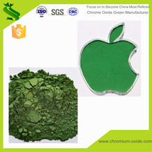 High quality stain Cr2O3 heat resistant mineral pigment chromium oxide green