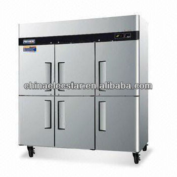 American style Reach-in kitchen Refrigerator, Conforms to UL/NSF.Made of Stainless Steel,American style